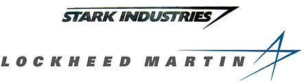 Ironman - Stark Industries and Lockheed Martin